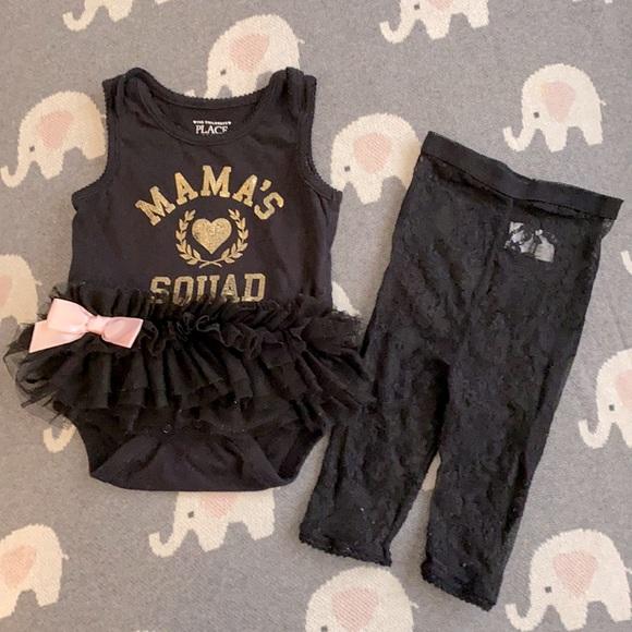 Baby girl Ballerina outfit